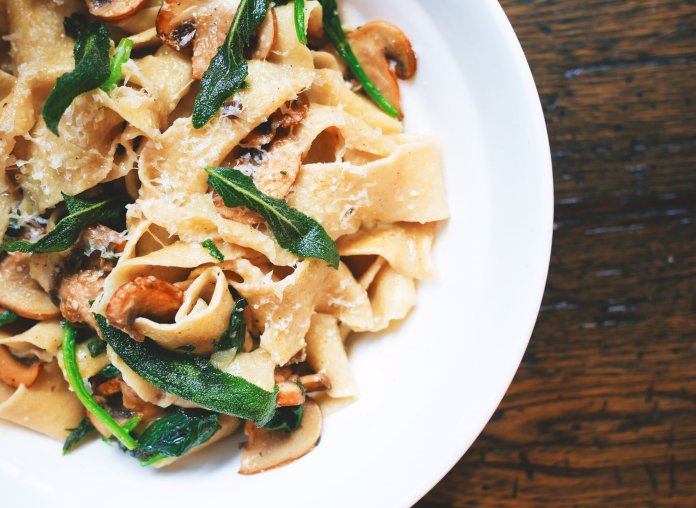 Pasta is the ultimate comfort food. There is nothing better than a cheesy pasta that is easy to make. Melissa shares a recipe for tuscan chicken pasta that is so simple you will feel like an Italian chef.  Photo by    Eaters Collective    on    Unsplash