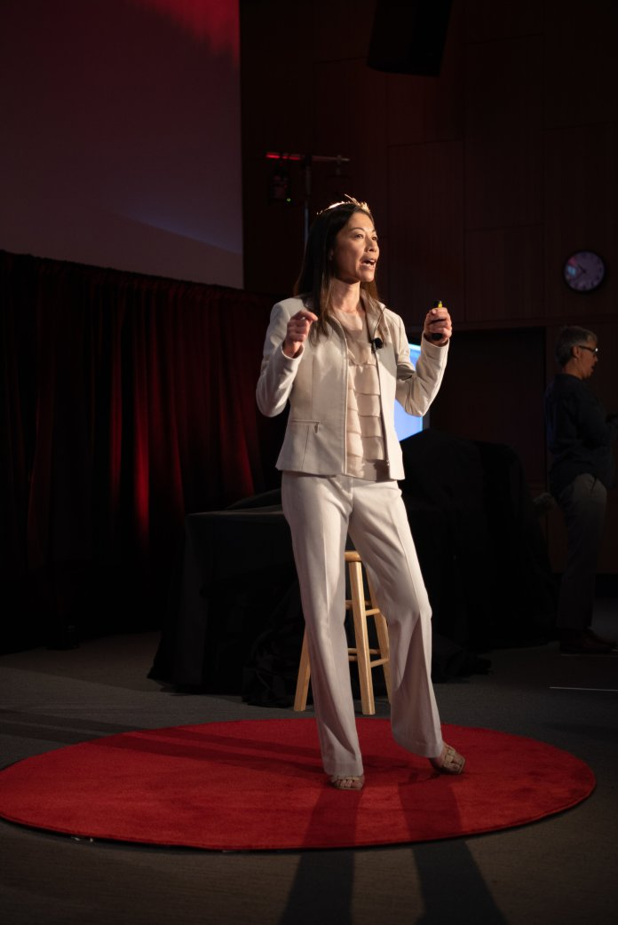 """On Sunday, TEDxUConn hosts their Fall 2019 Conference at Oak Hall with the focus on """"Crushing the Comfort Zone"""". There were 11 speakers, including students, and two performances.  Photos by Charlotte Lao / Photo Editor / The Daily Campus"""
