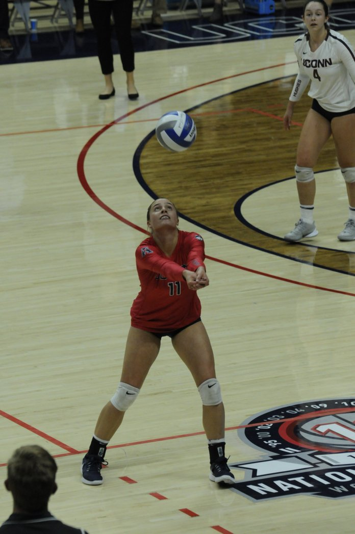 UConn loses to Cincinnati 0-3.  Photos by Kortney Drew/The Daily Campus