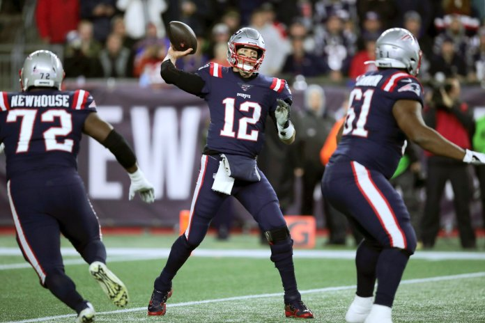 The New England Patriots are one of two teams that remain undefeated after week 5, but with the toughest part of their schedule ahead, fans are wondering how long their undefeated streak can last.  Photo from the Associated Press.