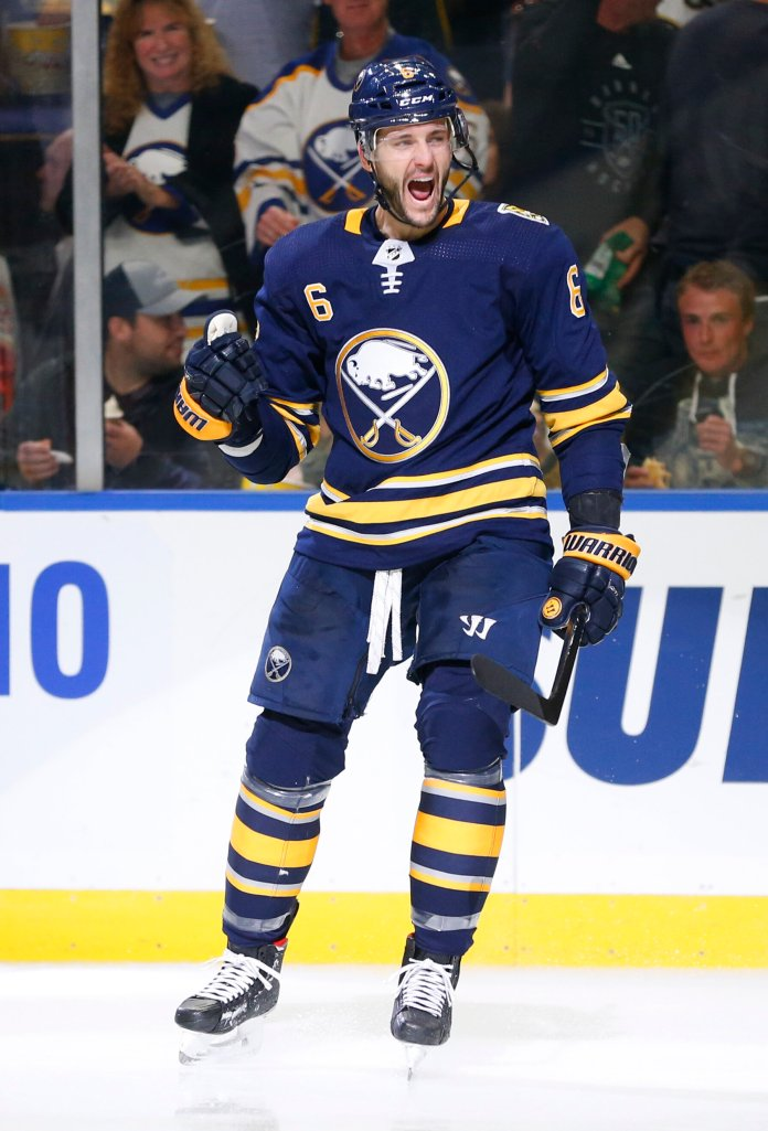 After struggling for the past several seasons, the Buffalo Sabres are finally looking like a team that can compete for the Stanley Cup after starting the season 5-0-1.  Photo from the Associated Press.