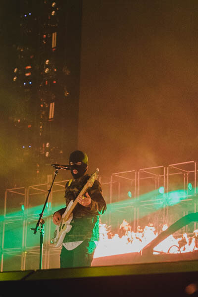 American musical duo Twenty One Pilots performed at Mohegan Sun Arena on Thursday, October 17th with openers pop band MisterWives. The Connecticut show was part of their Bandito 2019 Tour.  Photos by Kimberly Nguyen / The Daily Campus