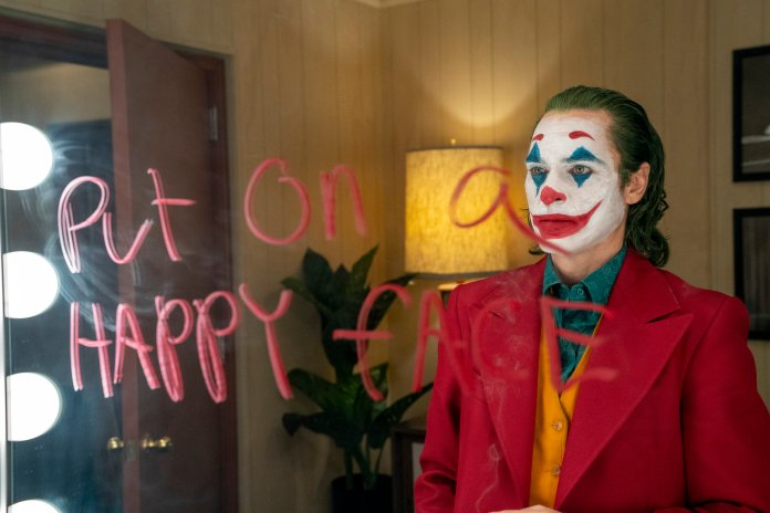 """The movie """"Joker,"""" which was just released this month, depicts the title character becoming increasingly violent as he stops his medication and mentally deteriorates into psychosis.  Photo from the Associated Press."""