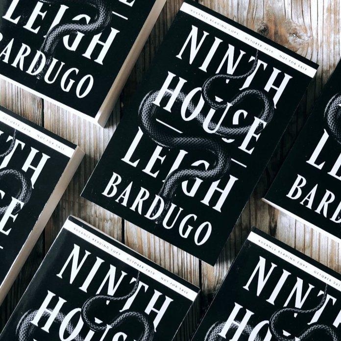 """""""Ninth House"""" by Leigh Bardugo.  Photo courtesy of    @LBardugo"""