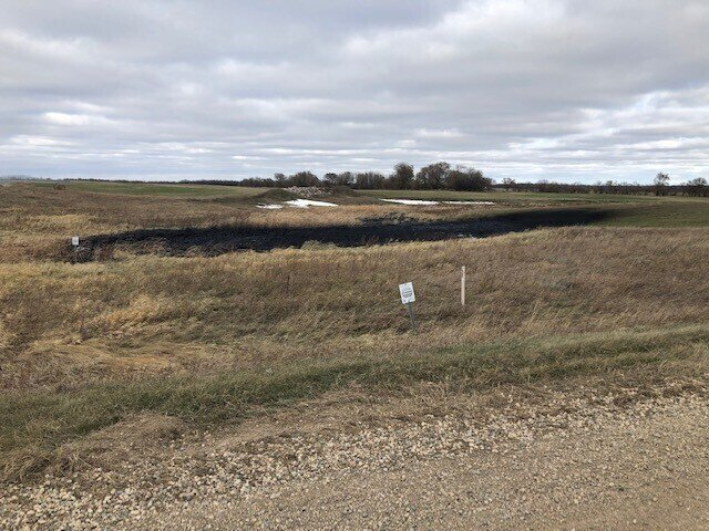 Keystone 1 Pipeline in North Dakota was shut down after a gallon oil leak. The pipeline is currently being investigated and being monitored by the North Dakota Department of Environmental Quality.  Photo by North Dakota Department of Environmental Quality/Taylor DeVries