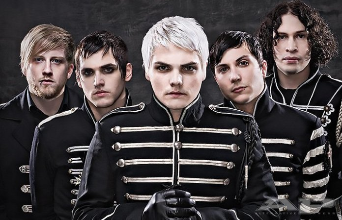 Rock band, My Chemical Romance announced their reunion on Twitter on Oct. 31. Tickets for their reunion concert went on sale on Nov 1. and sold out within 30 minutes.  Photo courtesy of    altpress.com