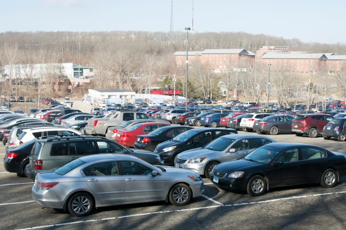 Two free bus shuttle services will take students to women's and men's basketball games at Gampel Pavilion. The Gampel Express will continuously run 90 minutes before and after each game.  File Photo/The Daily Campus