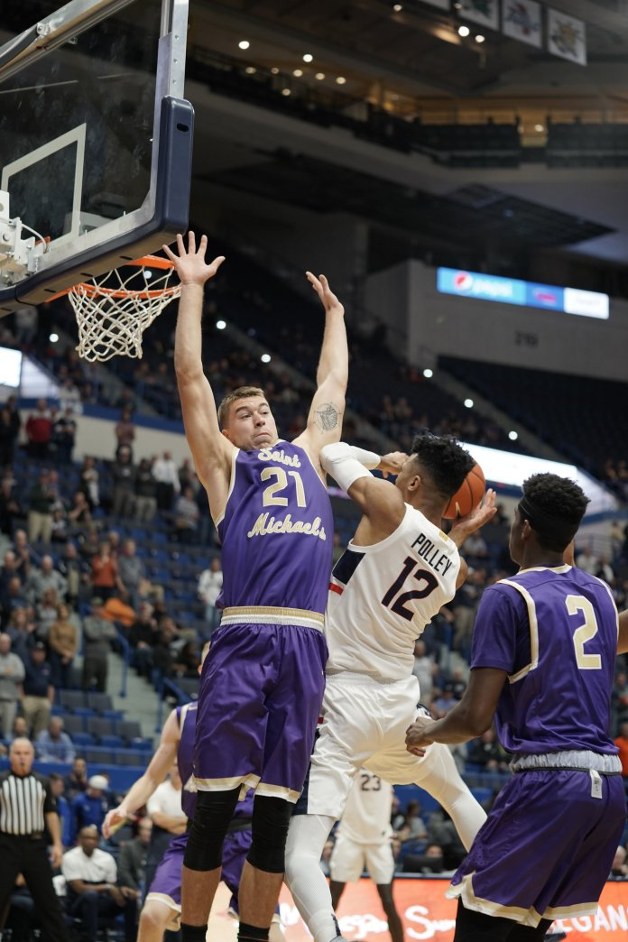 The Huskies need Polley to take a big leap in his game and become more than just an outside shooter if he is going to help this team.  Photo by Eric Wang / The Daily Campus.
