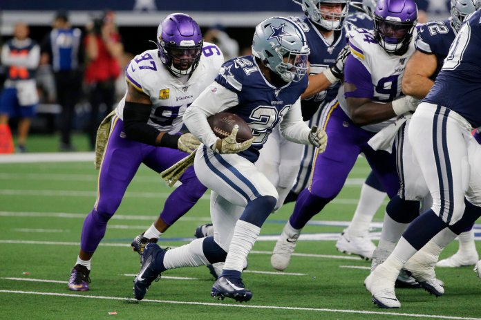 The era of the running back playing a crucial role in winning the Super Bowl has ended. The league has slowly found more success with a system of running backs by committee which could change the shape of the NFL in years to follow.  Photo from the Associated Press.