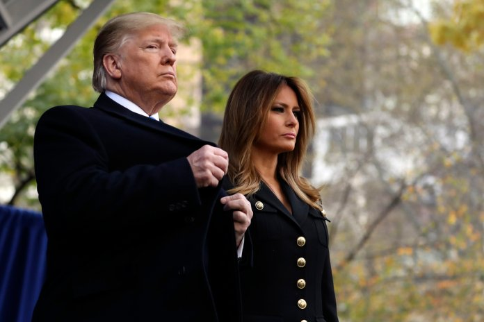 Despite talks of impeachment since his election, there has not been something so egregious to mandate his removal.  Photo from the Associated Press.