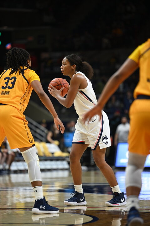 UConn's core four all played at least 36 minutes, and just nine of the team's 65 shots didn't come from any of them.