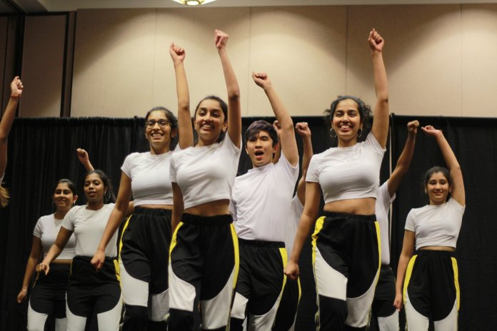 Various student groups perform at the International Night hosted by the UConn honors program in the Rome Ballroom Thursday night.  Photos by Sofia Langou/The Daily Campus