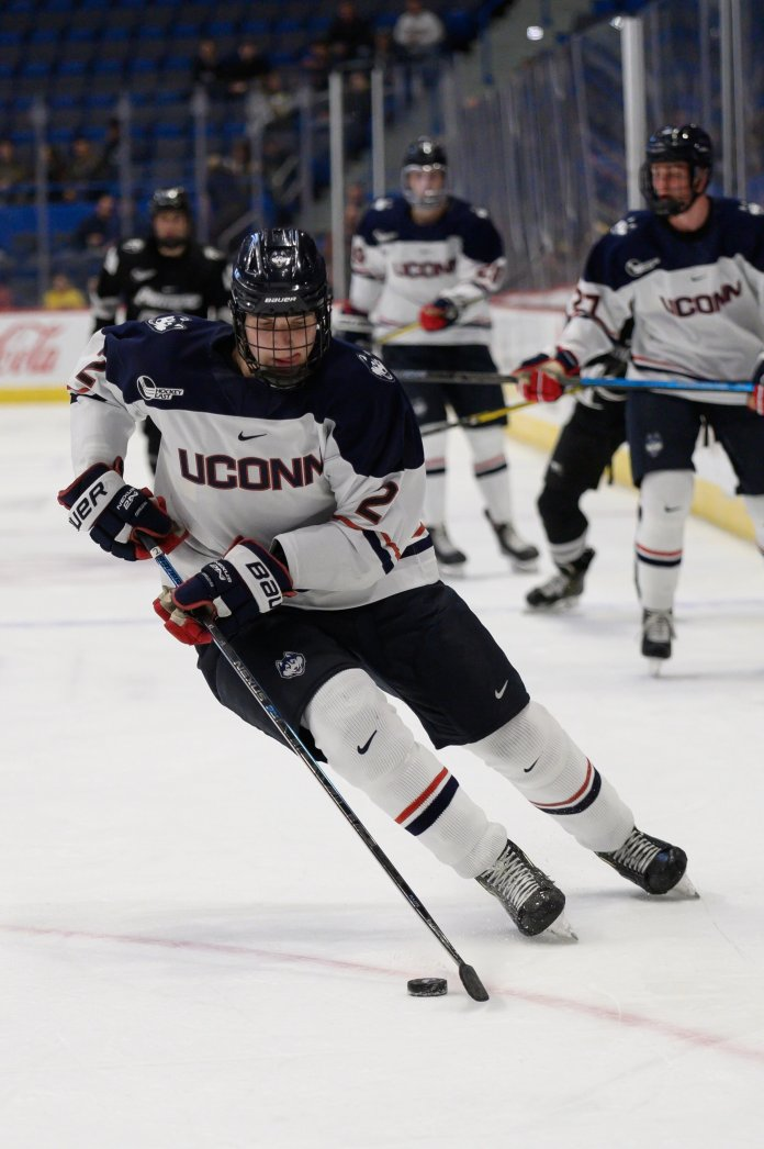 UConn men's hockey team went 0-1-1 versus the Providence Friars on Nov. 22.  Photo by Kevin Lindstrom/The Daily Campus