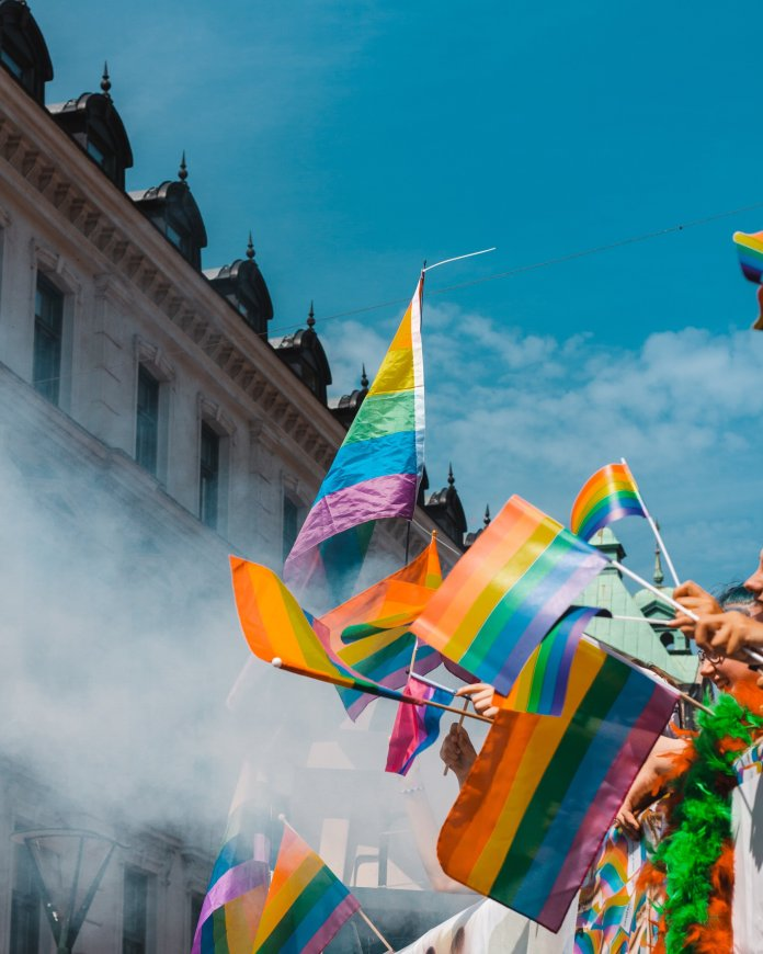 The legalization of gay marriage is probably the biggest humans right advancement in the United States in the last 10 years.  Photo by    Teddy Österblom    on    Unsplash