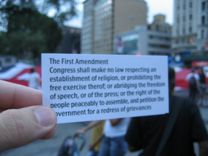 Outside the larger political scene, First Amendment rights have been largely upheld by the Supreme Court in the 2010s.  Photo courtesy of Flickr Creative Commons.