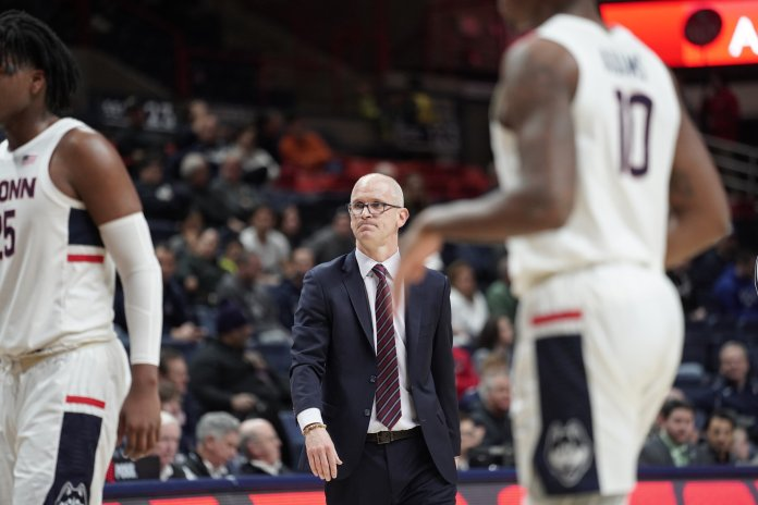 Away from Connecticut? The Huskies are 2-4 in games played elsewhere, two of which coming at neutral venues. The two true road games were both against conference foes.  Photo by Eric Wang/The Daily Campus
