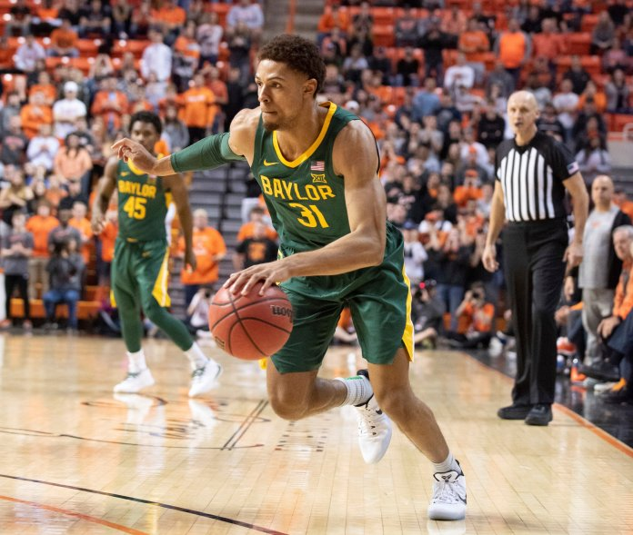Baylor is the latest AP No. 1 team in men's basketball. They are the seventh team to be ranked first so far this season.  Photo from the Associated Press.