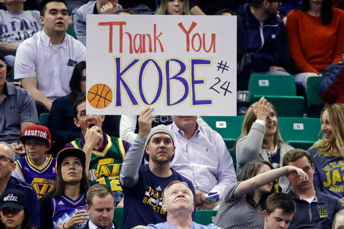 This was a truly heartbreaking weekend, but now we all know how fragile life can be. Live happily, with love and passion as Kobe did, and live life to the fullest.  Photo courtesy of The Associated Press.
