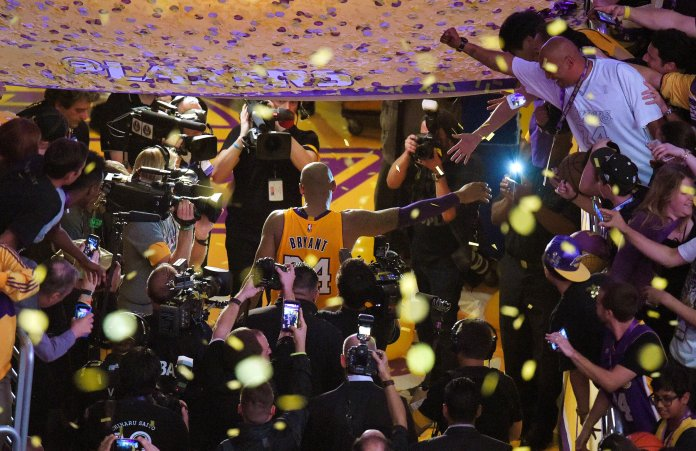 His five NBA Championships leave some big shoes to fill for the next player up in the NBA, but more importantly a lot of memories for fans to know him by.  Photo courtesy of The Associated Press.