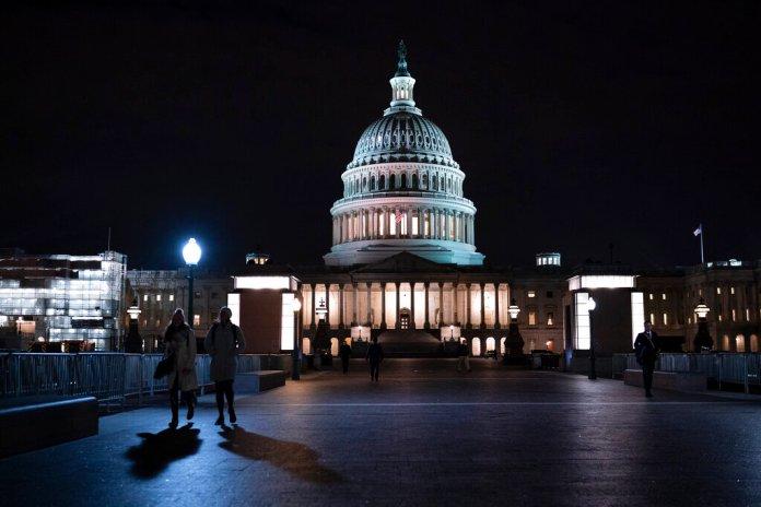 The Capitol in Washington is seen Thursday, Jan. 30, 2020.   Photo by J. Scott Applewhite/AP