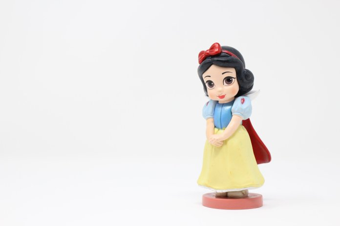 A photo of a Snow White figurine. Snow White and the Seven Dwarfs was released 82 years ago. Photo by King Lip on Unsplash