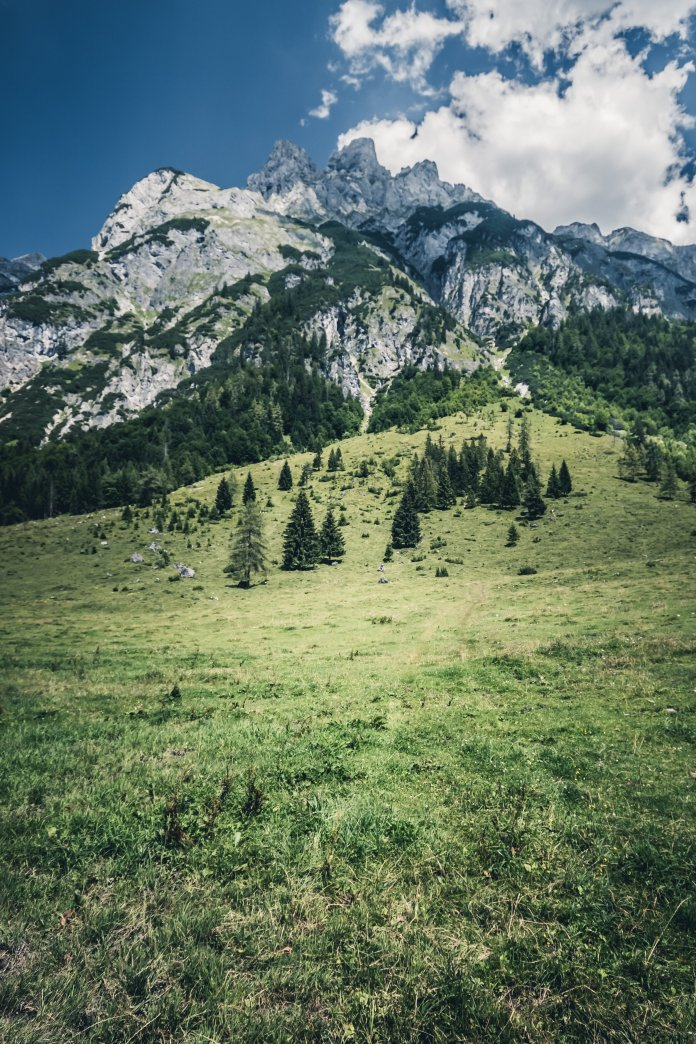 A photo of The Alps in Salzburg, Austria. The majority of the Sound of Music was filmed in Salzburg, Austria. Photo by  Thomas Q  on  Unsplash