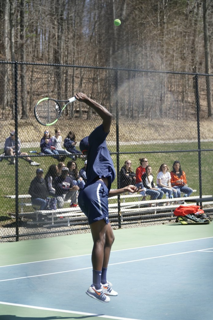 While the women came out on top, the men's tennis team lost their sixth straight match, this time losing five of six games against Fairfield University.   File Photo / The Daily Campus.