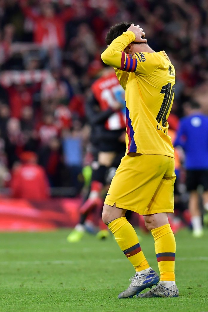 Lionel Messi caused some drama in La Liga this weekend after an instagram story spoke of his and his teammates playing poorly as a result of management issues.  Alvaro Barrientos / AP Photo.