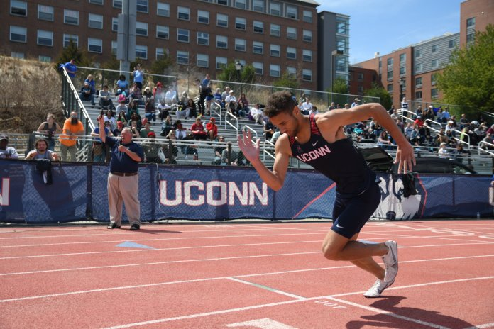 UConn's track teams took part in the David Hemery Valentine Invitational this weekend. Both competed well and will look to continue their success in two weeks at the AAC Conference Championships.  Photo by Judah Shingleton/The Daily Campus.