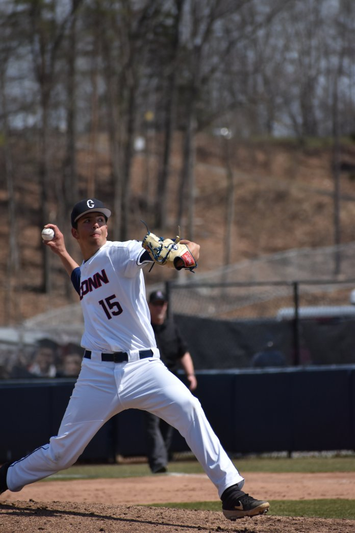 The bats were quiet in UConn's two losses, mustering just one total run. But Sunday against Michigan, they came alive.