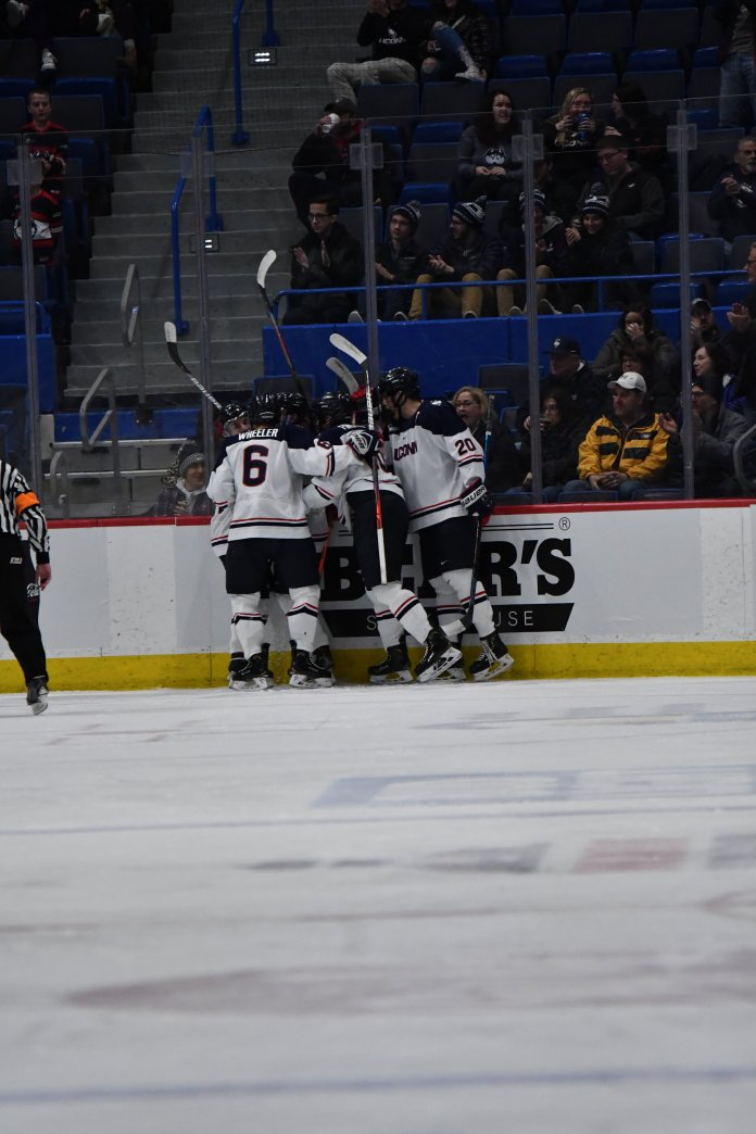The Huskies could potentially do some damage on face-offs, though, as the Terriers have won just 46% of them this year.