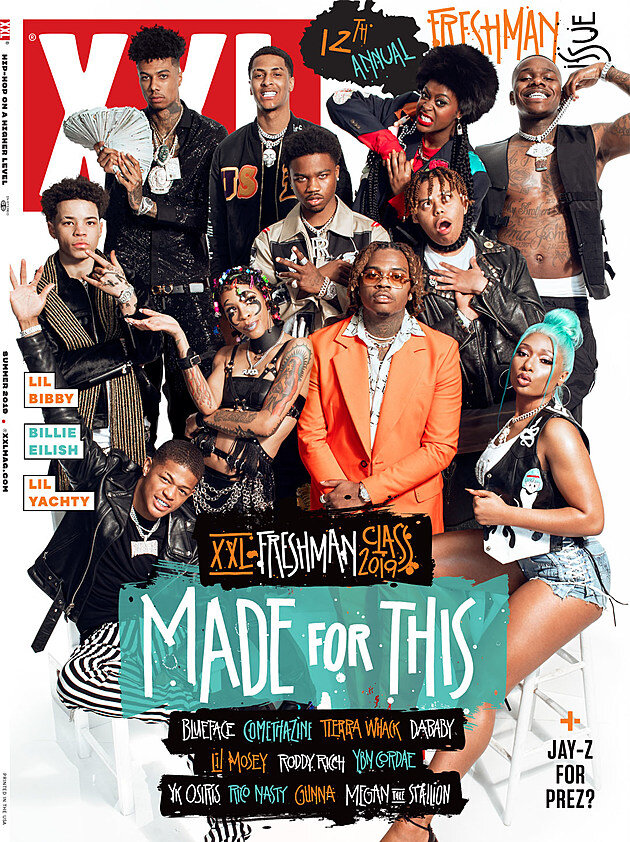 The XXL Freshman 2019 cover. For hip hop, making the XXL Freshman cover is a major accomplishment.  Photo from the    XXL Magazine