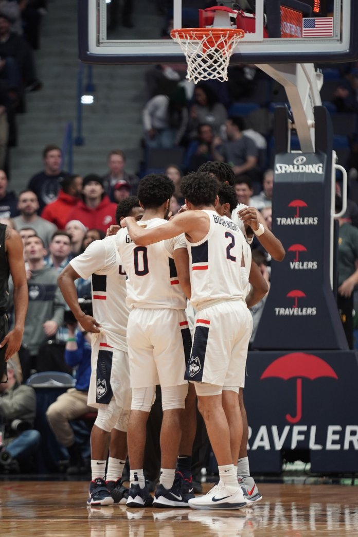 UConn men's basketball beat UCF 81-65 last Wednesday away in Florida.  Photo by Eric Wang/The Daily Campus
