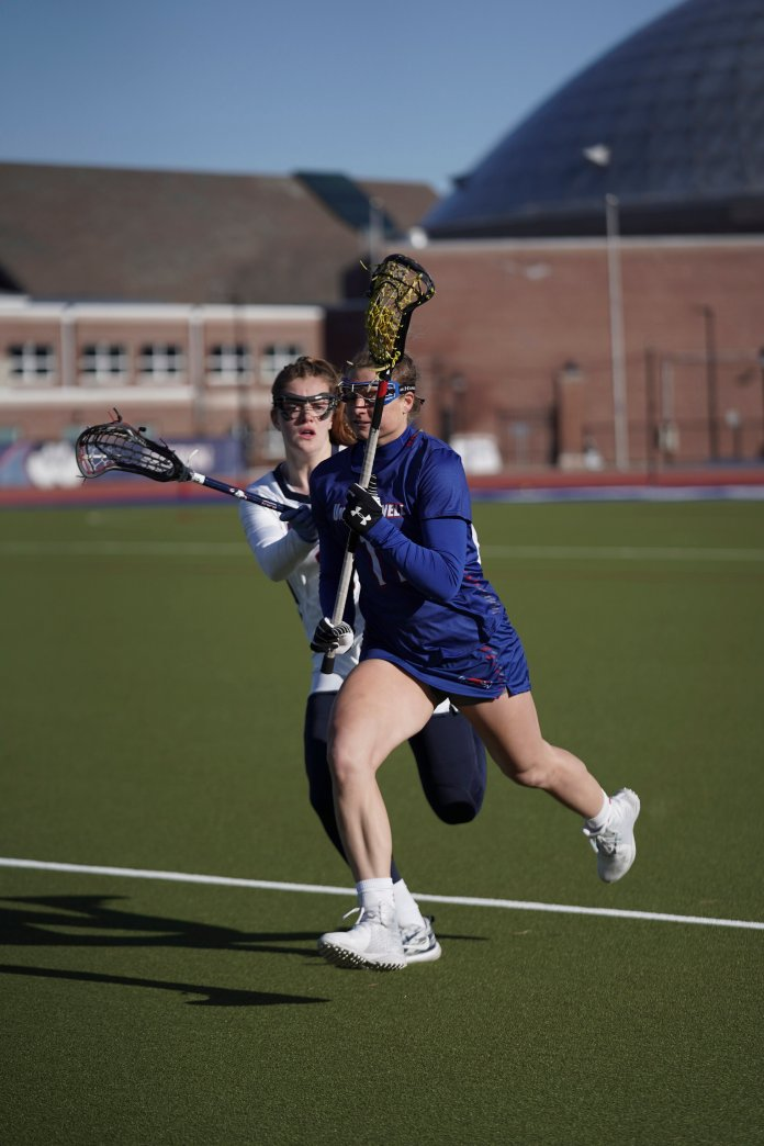 So far the Huskies have improved their attacking side to which they currently have a shot percentage of.578.  Photo by Maggie Chafouleas/The Daily Campus