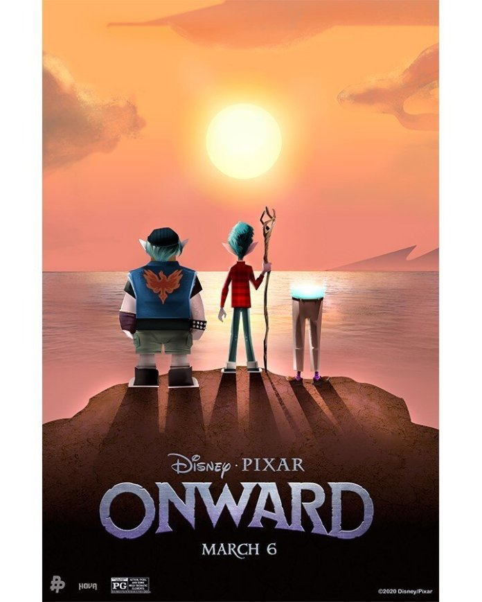 """Pixar released """"Onward"""" on March 6th. """"Onward"""" follows a young elf named Ian (Tom Holland) who discovers that there is a spell to bring his dead father back to life but he has only 24 hours to do it.  @pixaronward"""