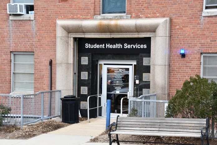 02/27/19 Health Services Building by Julie Spillane. UConn is moving to online classes in light of the COVID-19 pandemic.