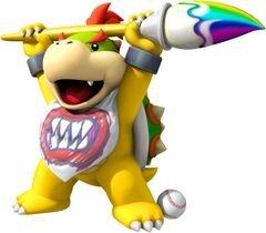 Image of Bowser Jr. courtesy of    Mario Super Sluggers    on    mariowiki.com   .