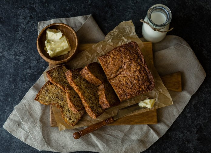 Recipe number one to try out while at quarantined at home: Coconut banana bread.  Photo by    Whitney Wright    on    Unsplash   . Thumbnail photo courtesy of    Izabelle Acheson    on    Unsplash   .