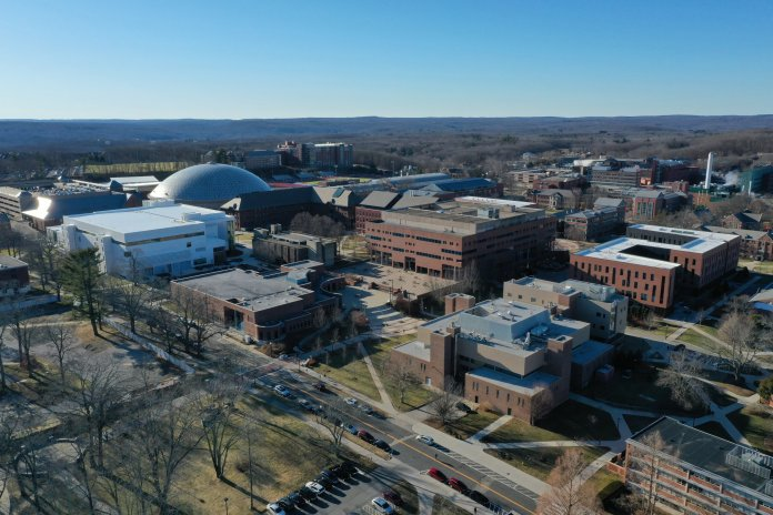In early March, UConn made the announcement they were moving classes online for the remainder of the semester. With this has come several challenges for both students and professors to get acclimated with the new system.  Photo by Eric Wang/The Daily Campus.