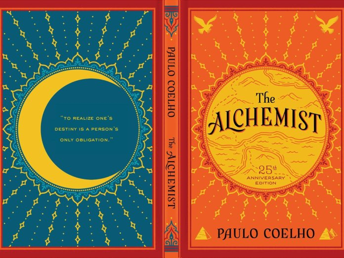 """The Alchemist"" written by Paulo Coelho.  Photo courtesy of    thoughtco.com"