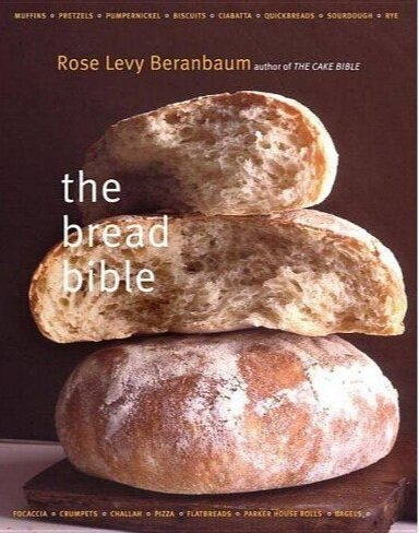 """""""The Bread Bible"""" gives thorough instructions on how to successfully create and care for your sourdough starter. The task requires a lot of attention and care, so the book gives day by day instructions to yield the best results.  Photo via Target.com"""