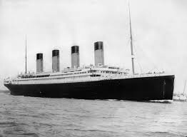 Over one hundred years ago, the R.M.S. Titanic set sail across the North Atlantic Ocean. On April 15, it sank after hitting an iceberg, resulting in the deaths of 1,500 people.  Photo via wikipedia.com.