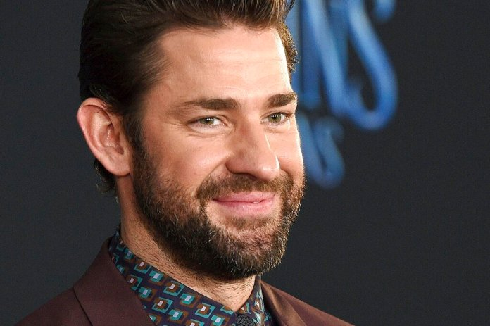 """Actor-writer-director John Krasinski poses at the premiere of the film """"Mary Poppins Returns"""" at the Dolby Theatre in Los Angeles. Krasinski and retired Boston Red Sox standout David Ortiz announced Sunday, April 12, 2020, during Krasinski's """"Some Good News"""" YouTube show that workers at Beth Israel Deaconess Medical Center in Boston would be getting free Red Sox tickets.  Photo by Chris Pizzello/Invision/AP, File"""