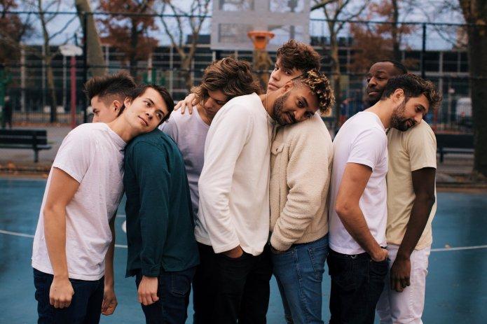 The seven-member boy band 'Juice'.  Photo by Off Season Creative via City Pulse