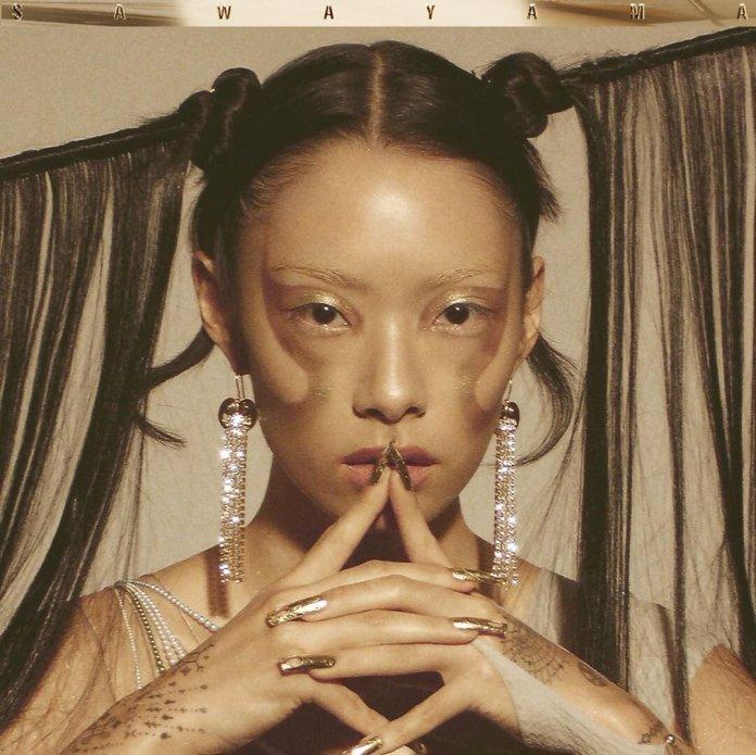 "The album cover for Rina Sawayama's latest album, 'SAWAYAMA"" @ rinasonline"
