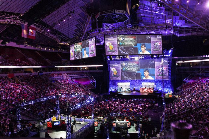 Esports is one of the fastest growing sports in the world in popularity, but it isn't like anything else there are no walkouts, no screaming crowd and no confetti. Photo by Sam Churchill via Flickr Creative Commons.