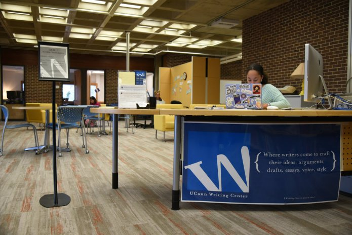 Both the Writing Center and Quantitative Learning Center have remained open despite campus being evacuated. The W Center offers help with essays, projects and cover letters while the Q Center covers subjects like math, statistics and science.  File Photo/The Daily Campus.