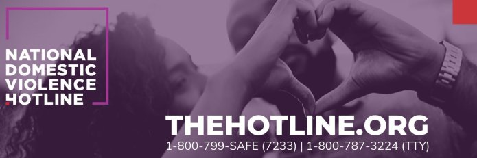 The National Domestic Violence Hotline is a 24/7 support resource for anyone that may be affected by domestic abuse. They urge that in case of in emergency 9-1-1 be called instead.  Photo via Twitter    @ndvh   .
