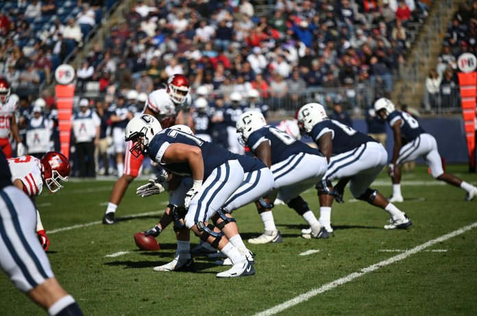While the was improvement compared to last season, UConn football went just 2-10 this season. They will become independent next year while every other UConn team joins the Big East.  Photo by Eric Wang/The Daily Campus.