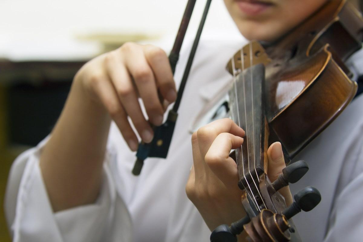 Violin Fingering — The Violin
